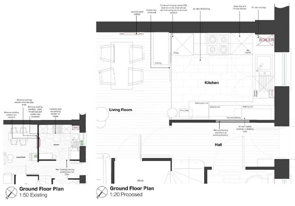 planning kitchen