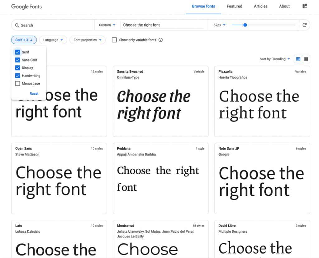 where to find free fonts for brand