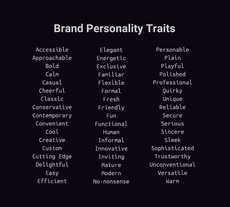 how to develop a brand persona