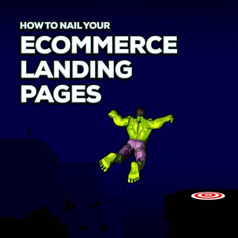 design the best ecommerce landing pages