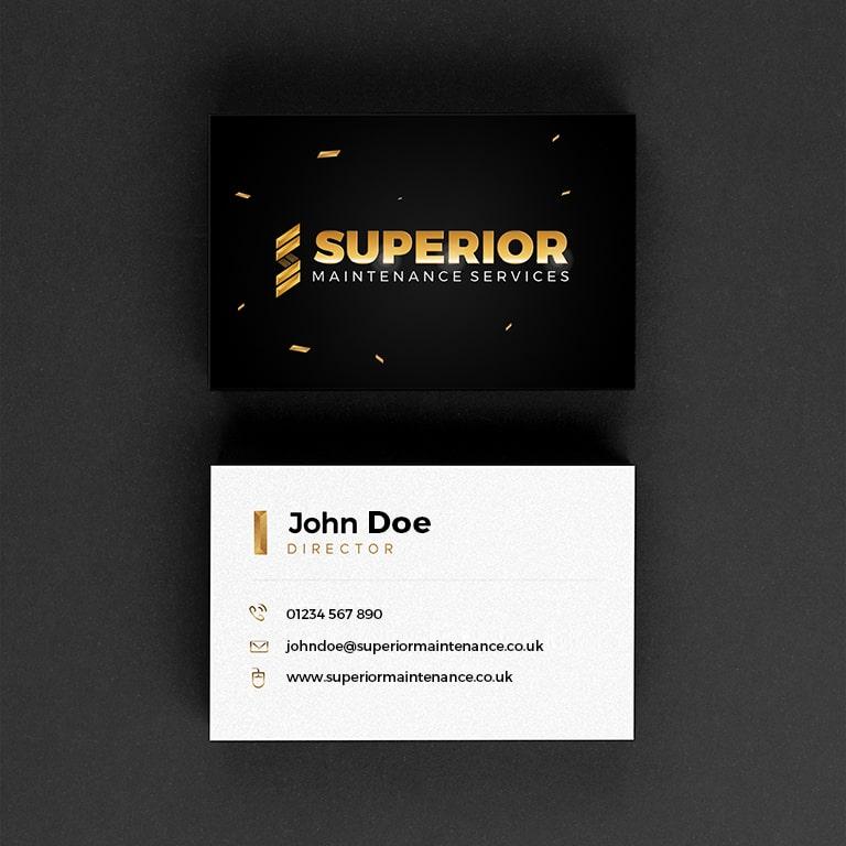 logo design for business cards