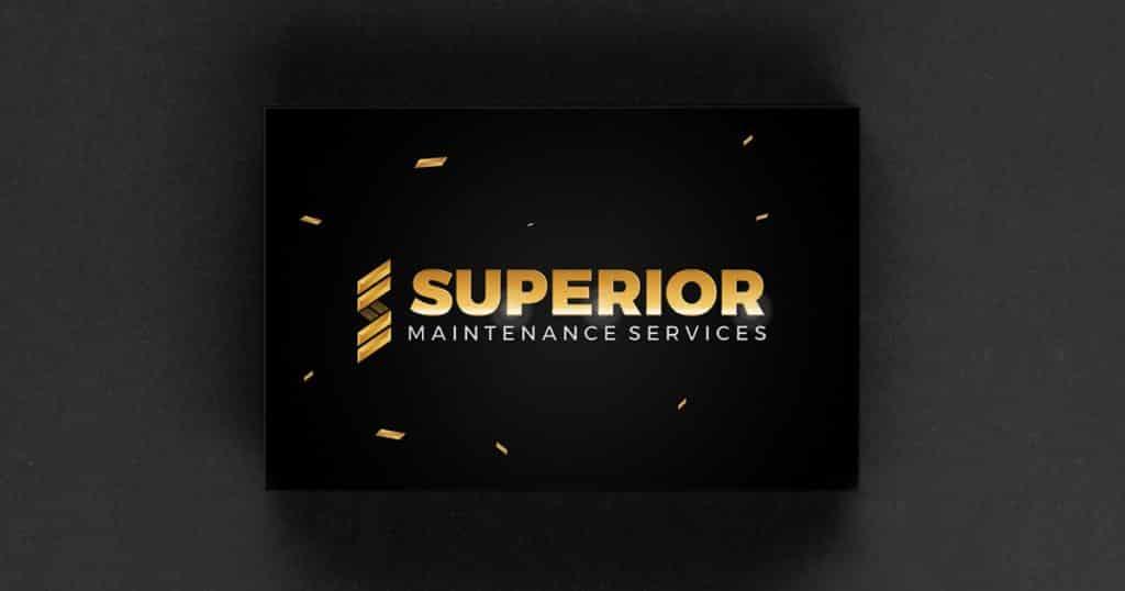 design of logo for superior services