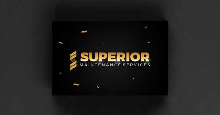 design of logo for superior services