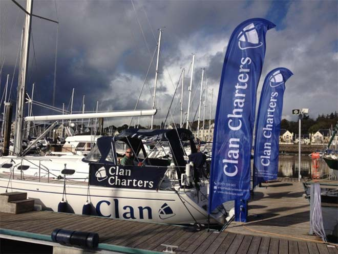 branded banners for Clan Charters