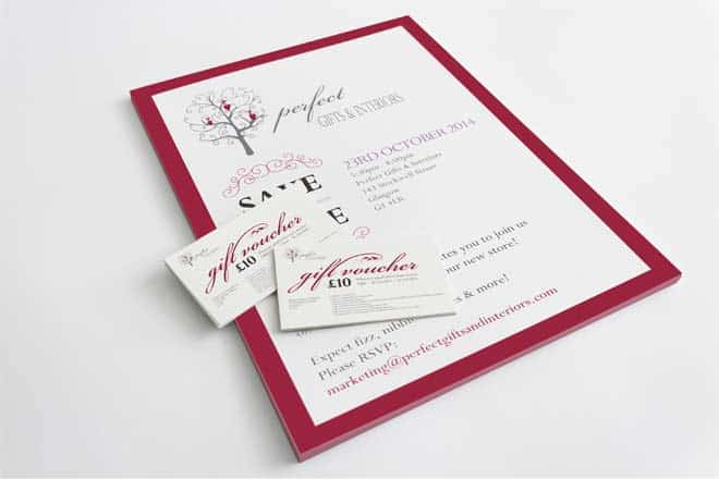 vouchers and invitations for A Perfect Gift Direct