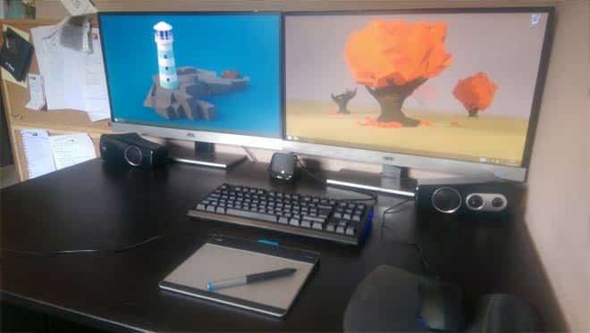 graphics tablet for workstation