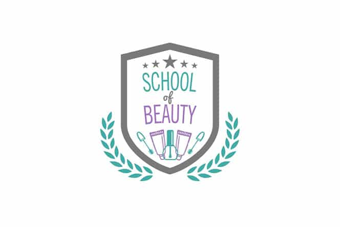 old logo design for School of Beauty salon