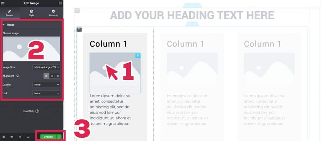 how to edit posts with elementor page builder