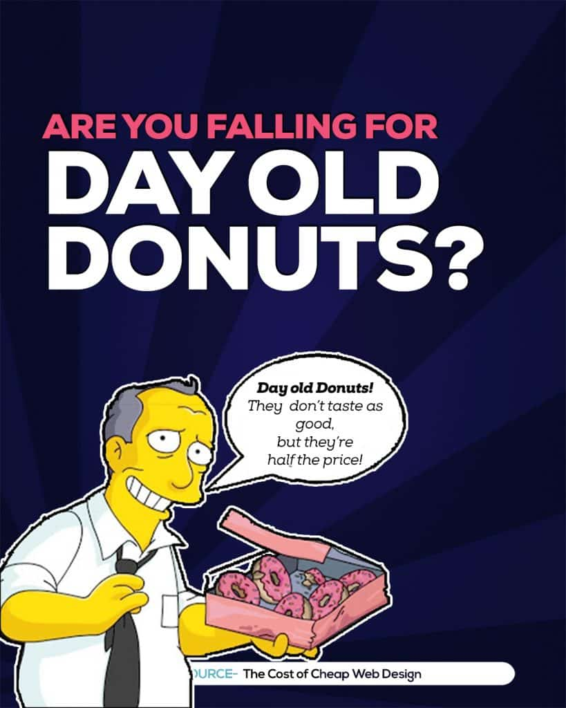 the trap of false economy and day old donuts