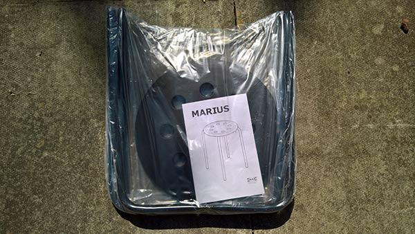 Marius stool from Ikea