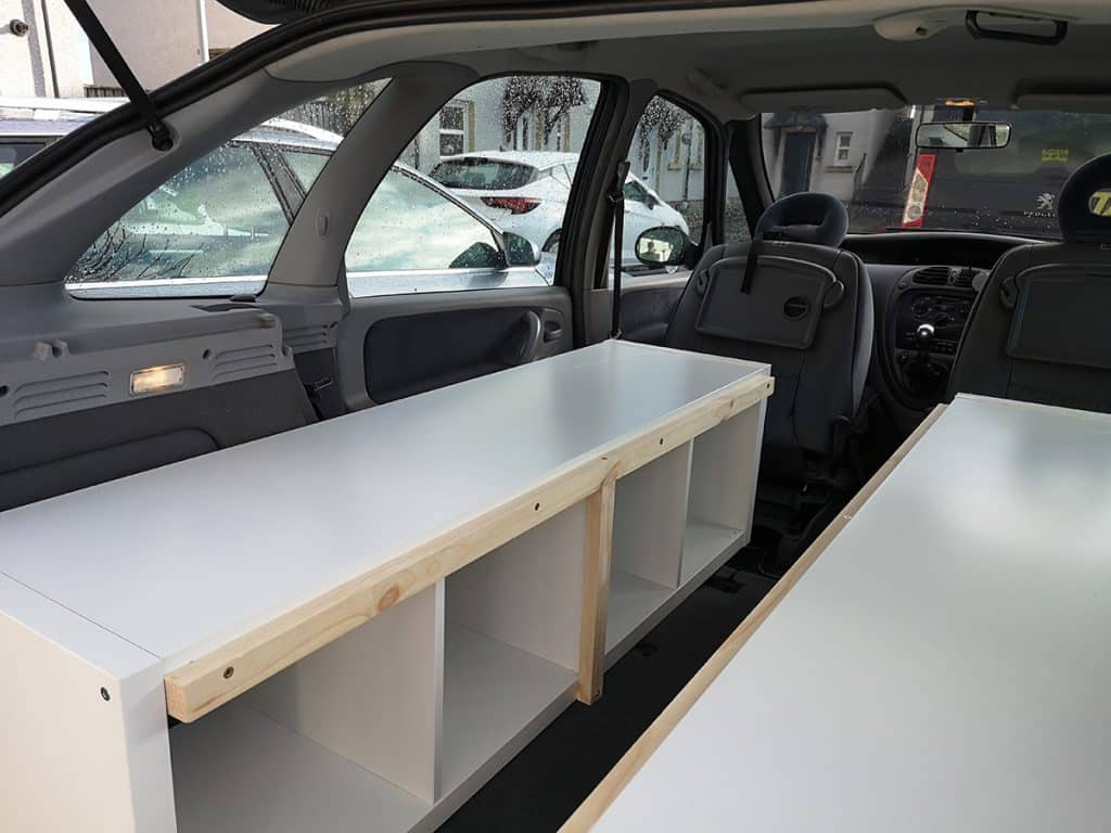 bed base for campervan
