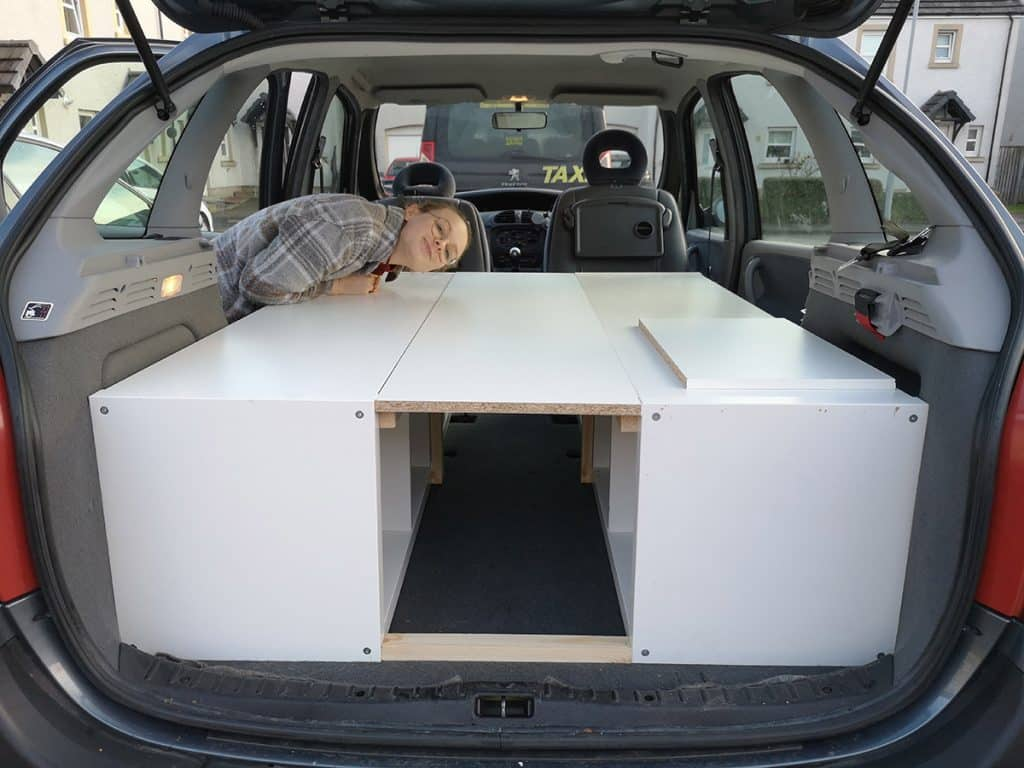 campervan bed
