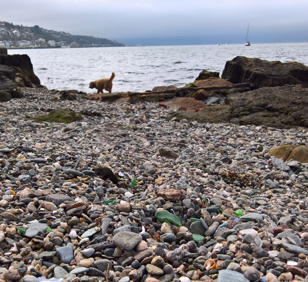 seaglass from Gourock