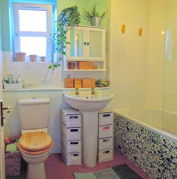 budget bathroom refurb