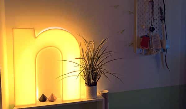 soft glow lighting