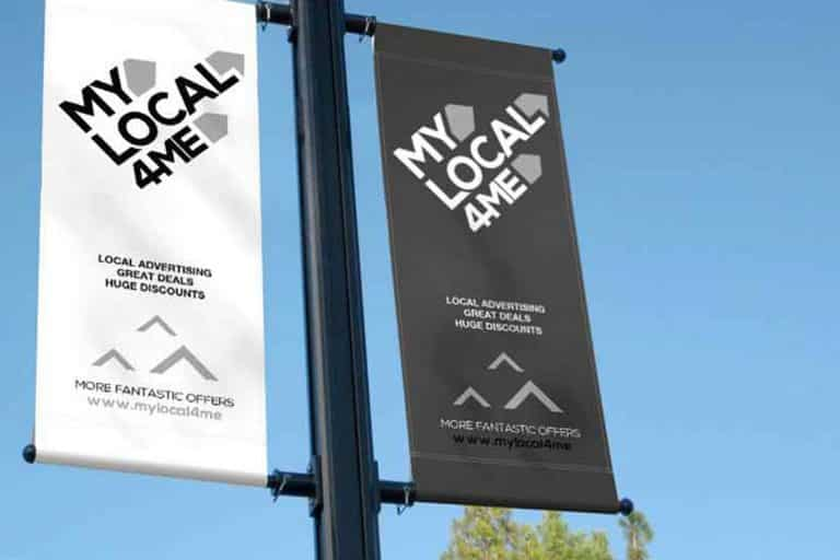 local advertising banners and signage