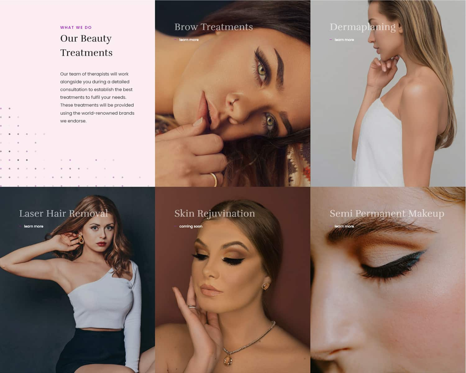 web designers for beauty salons
