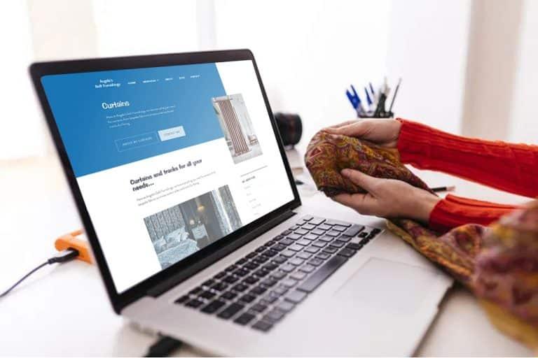 web design of business in Greenock