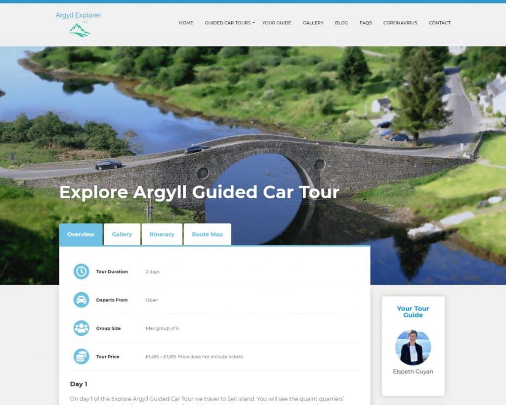web design agency in Argyll