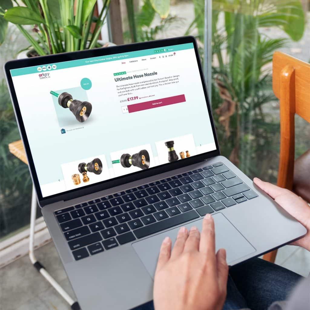 E-Commerce website design in Glasgow