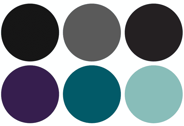 colour scheme for Artsqwest brand