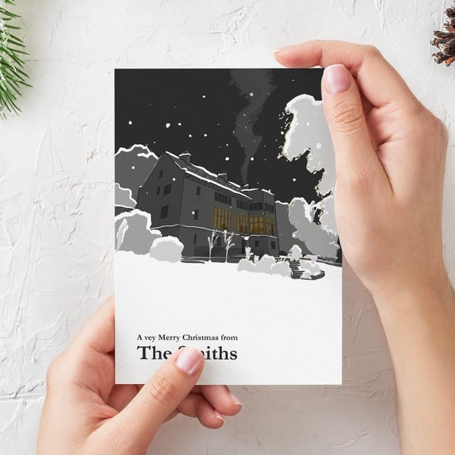Design of greetings card forBishops House