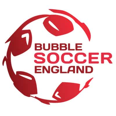 Bubble soccer England logo