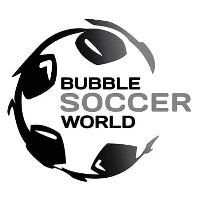 Bubble soccer world logo