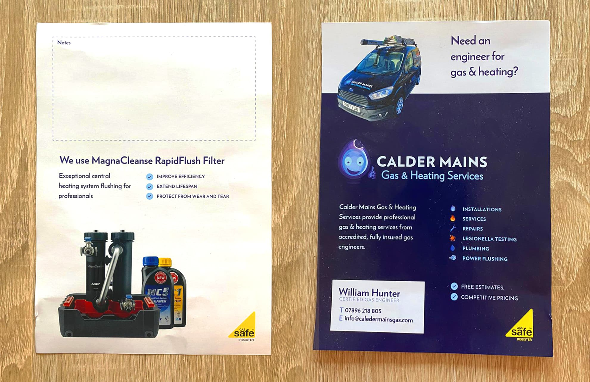 A5 flyer design and printing