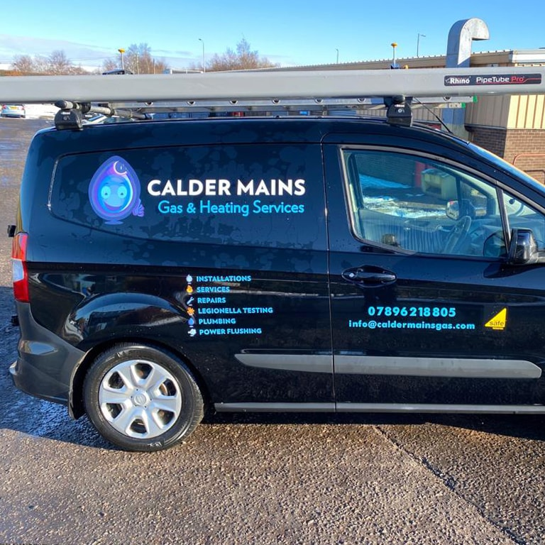 branded vehicle livery