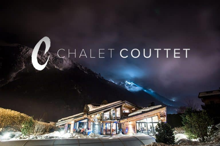 design of branding for holiday chalet in France