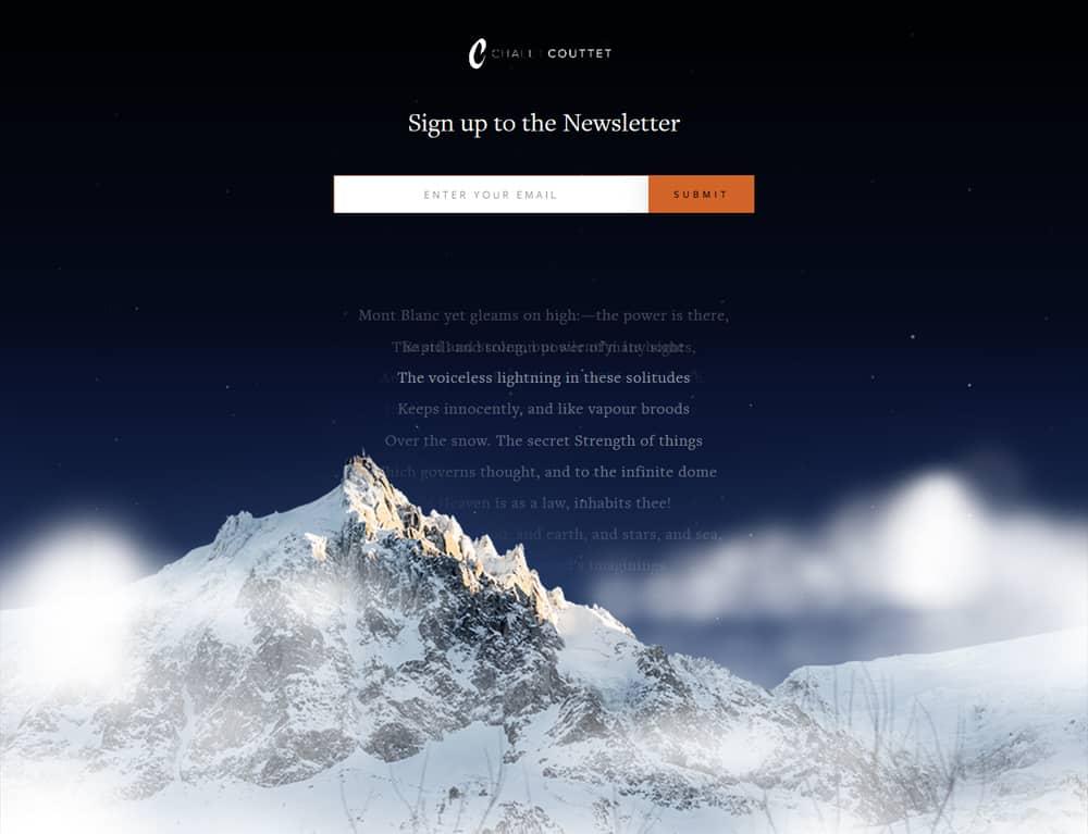 parallax effect for website