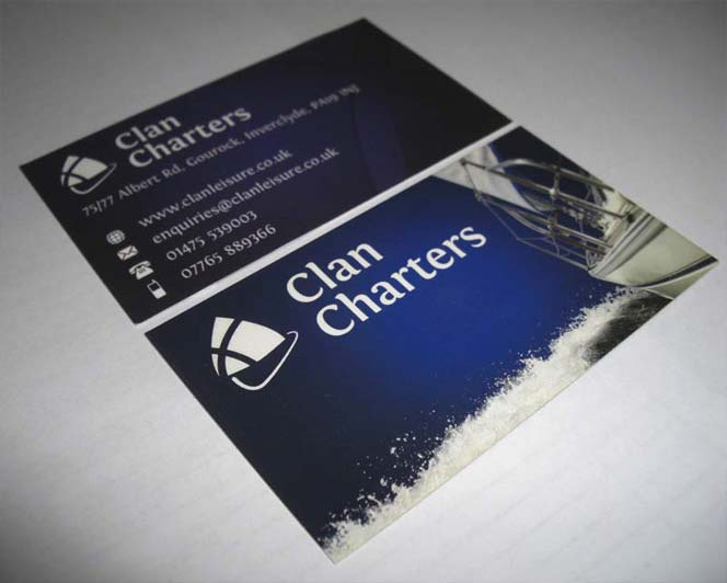 Business Cards for Clan Charters