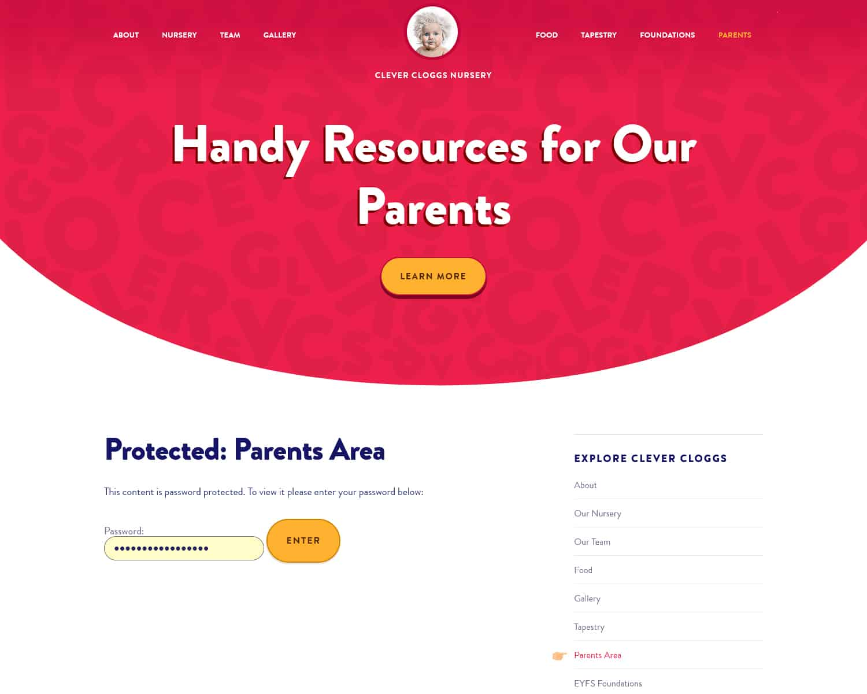 websites for childcare