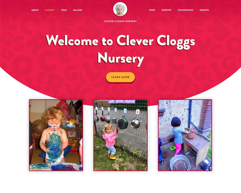 web design for children's daycare