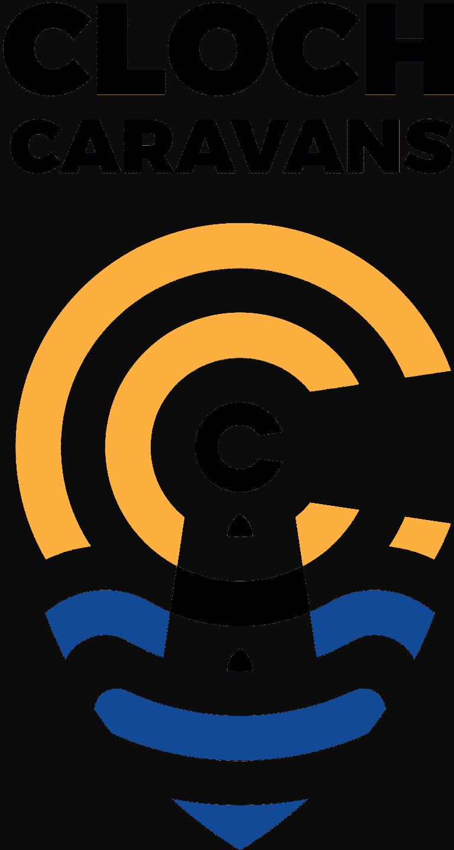 design of logo for cloch caravans
