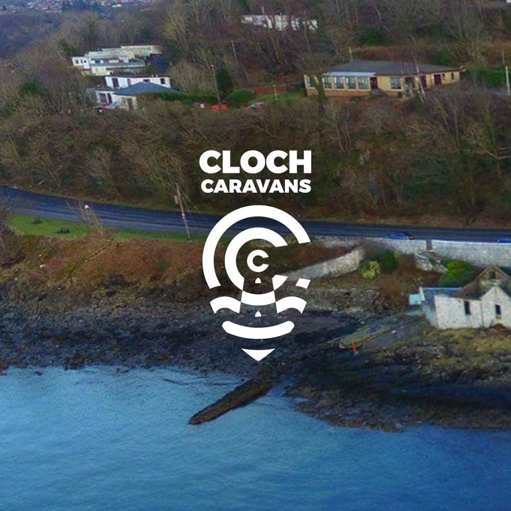designing of logo for Cloch Caravans