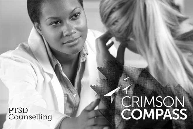crimson compass brand imagery