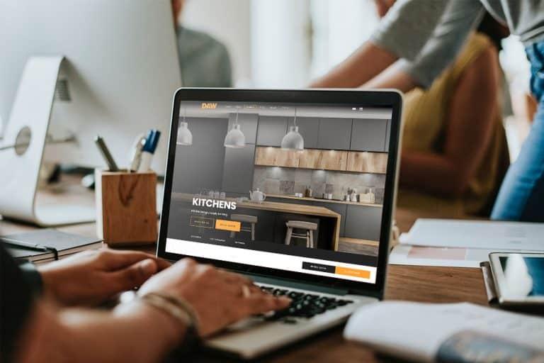 Design of responsive website in Glasgow