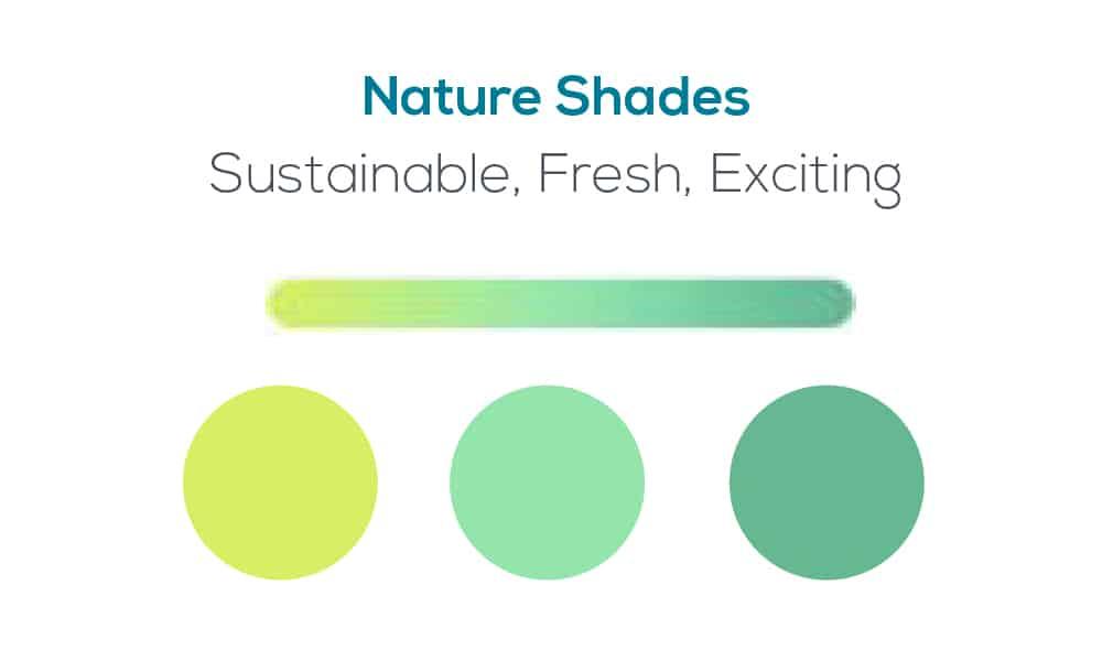 Fresh Bistro branding colour scheme