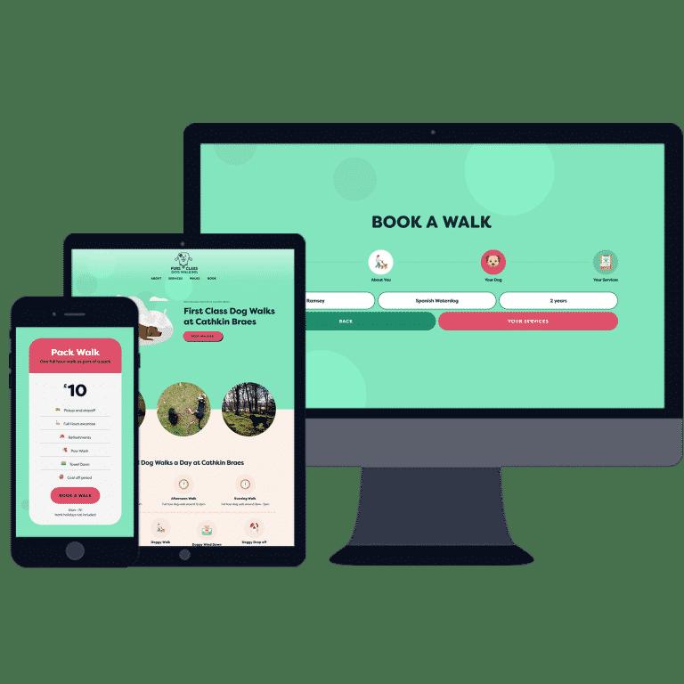 bookign website designers