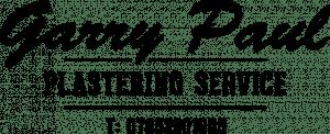 gary paul plastering logo