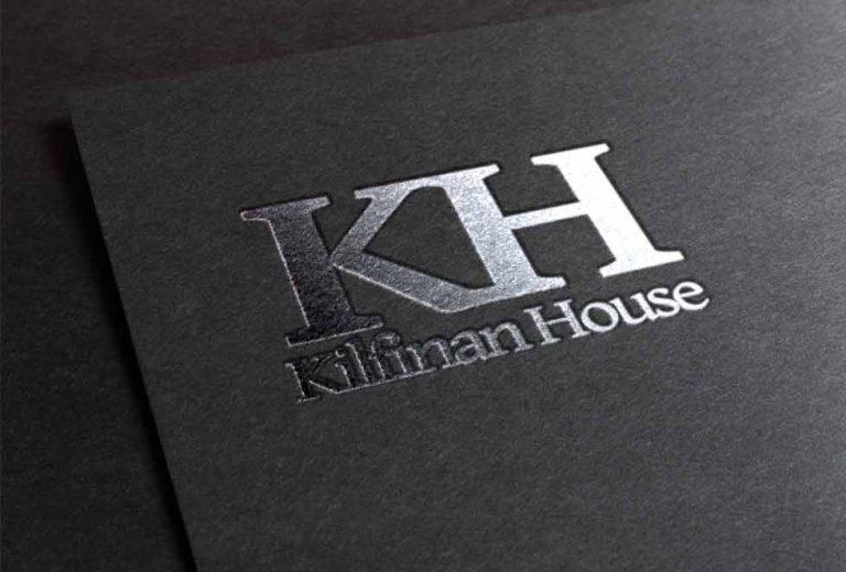 Brand identity for Kilfinan House
