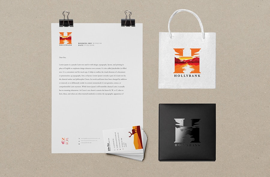 Design of business stationery