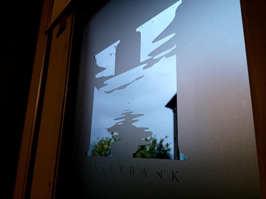 branded window signage
