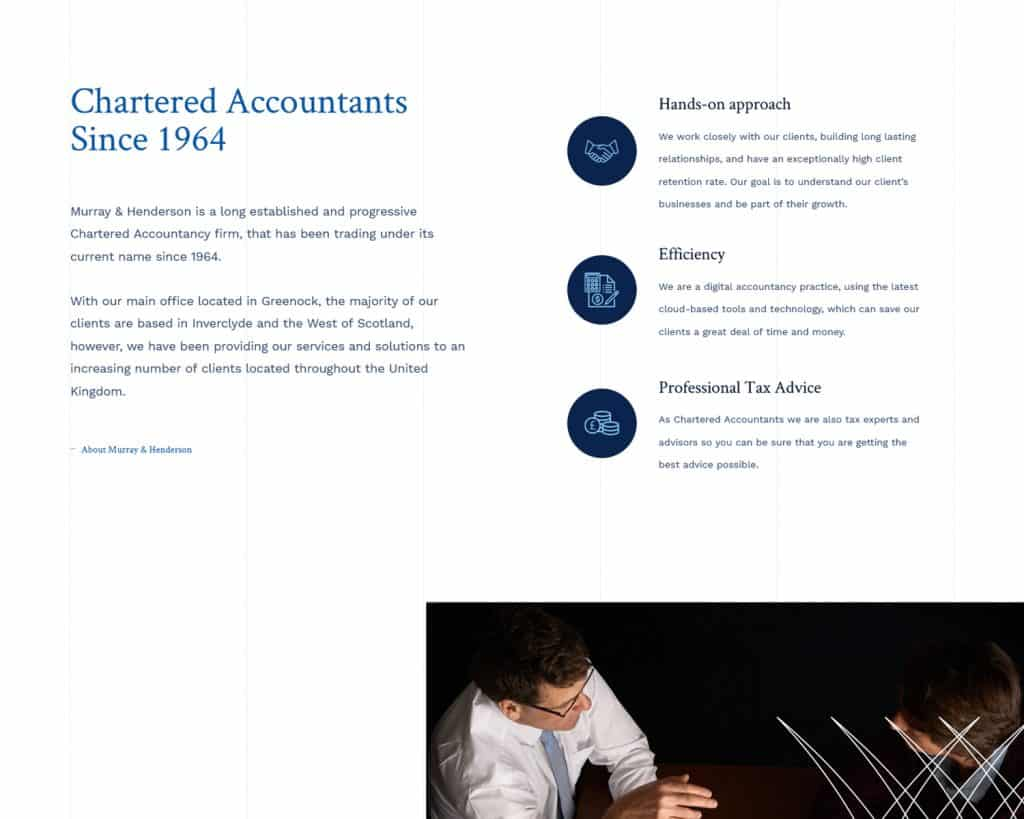 webdesign for accountants