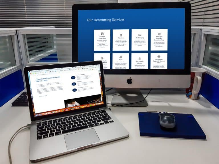web design for accounting firms