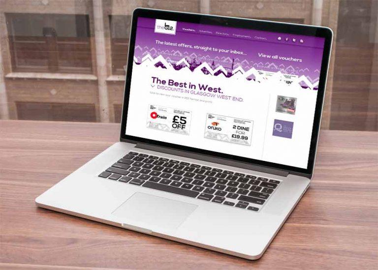 web design for online voucher company