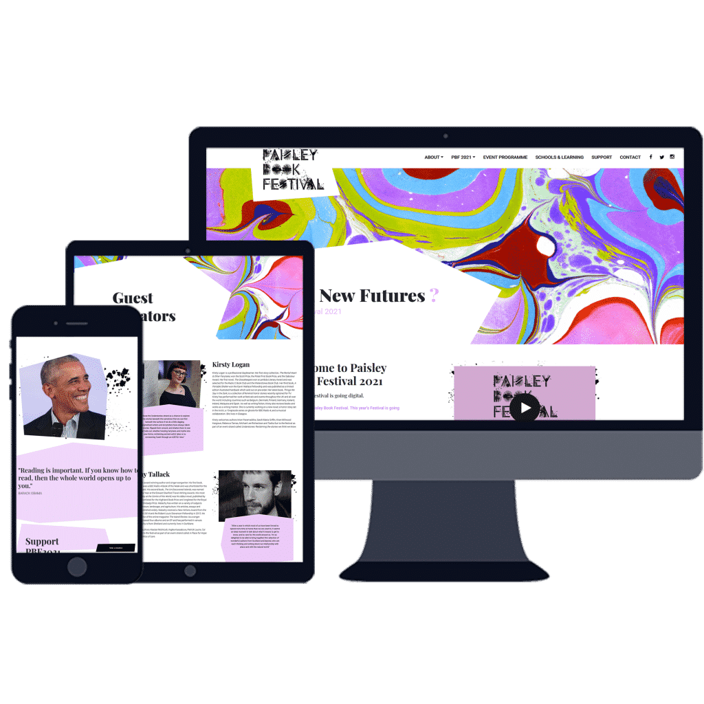 web design for Renfrewshire COuncil