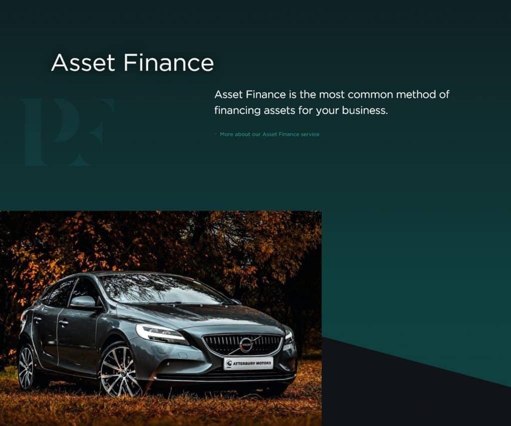 finance broker website design